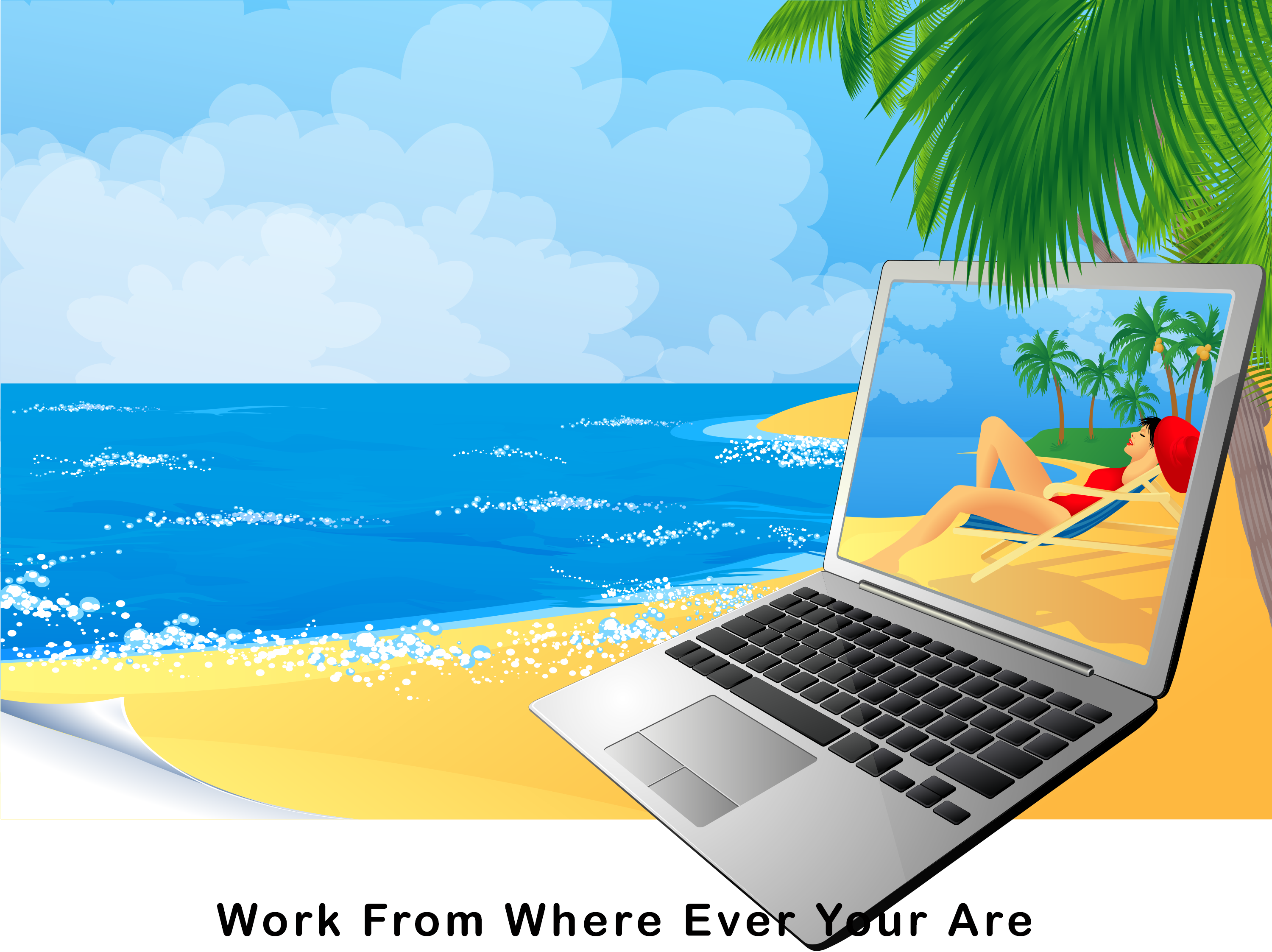 Work where ever you are with affiliate marketing